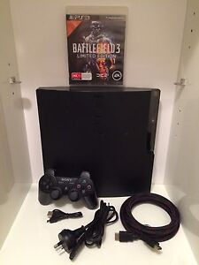 Ps3 Playstation 3 slim with controller, cables and games Stanmore Marrickville Area Preview