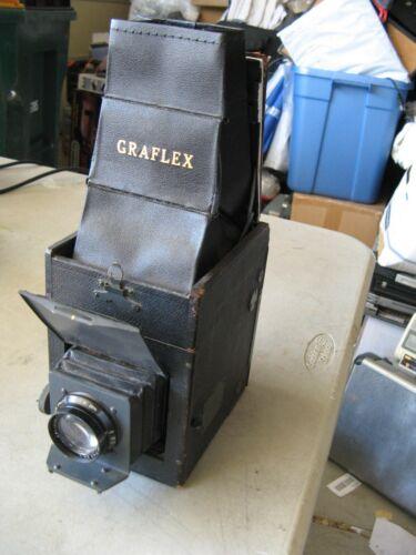 Vintage Antique Graflex Model RS Series B Camera With Top Hood But No Back