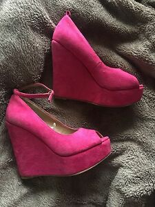 Rubi Wedges Size 8 Fairview Park Tea Tree Gully Area Preview