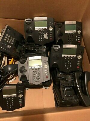 Lot Of 58 Polycom Soundpoint Ip 450 Ip450 2201-12450-001 Office Business Phone