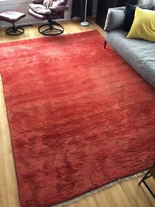 Beautiful Persian gabbeh rug -$300