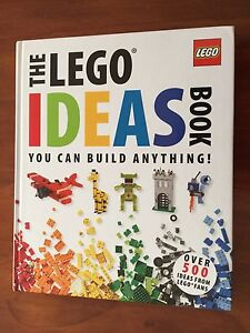 AS NEW - The LEGO Ideas Book - You can build anything! Parkinson Brisbane South West Preview