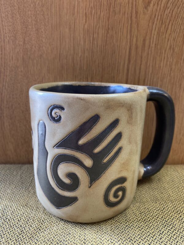 Healing Hand Mara Mug in lead free stoneware pottery