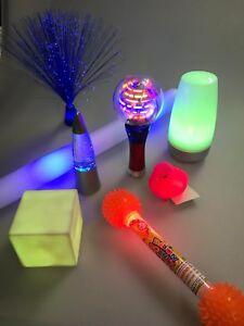 NEW #1 Sensory Light-up Dark Den Kit - Strong Visual Special Needs Autism ADHD
