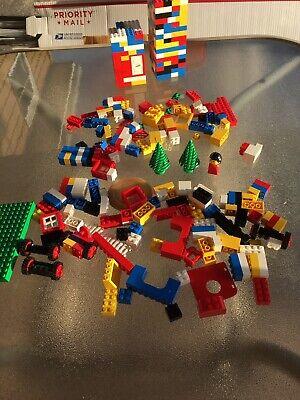 400 Pieces Of Vintage Legos 1970s-1980s