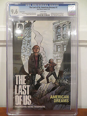 THE LAST OF US #1 VARIANT CGC 9.6 AMERICAN DREAMS DARK HORSE VIDEO GAME EDITION