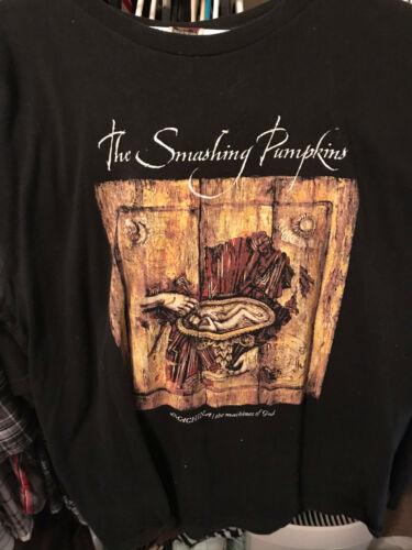 The Smashing Pumpkins Vintage 2000 Sacred and Profane Tour T shirt Machina XL