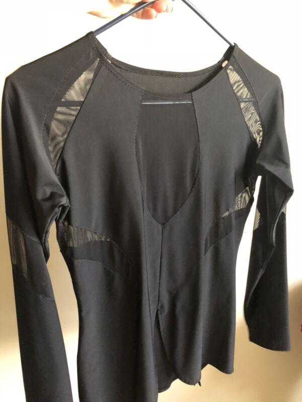 Boys Dancewear Latin Ballroom Dance Shirt Performance Size XS/S