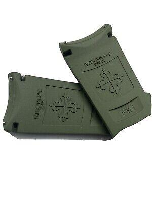 Patek Philippe Aquanaut 5168 Khaki Green Strap - 100% Authentic