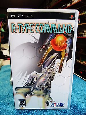 R Type Command  Sony Psp  2008   Complete