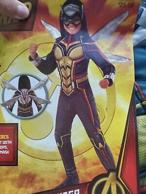 The Wasp Marvel  Costume Girl Rubies - Wasp Marvel Kostüme
