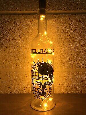 Hellraiser Gift, Light Up Bottle, Movie, Film, Pin Head , Christmas, Birthday ()