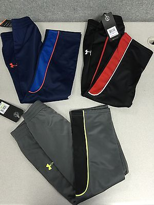 1xNWT Under Armour UA logo Boy's Kid's athletic active Long Pant pick sz/color  Und 1 Athletic Hosen
