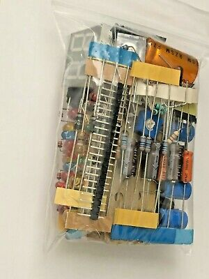 Electronics Component Bag Of Parts Mixed Bag Lot Caps Resistors Led Diy Sale New
