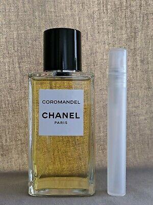LES EXCLUSIFS DE CHANEL COROMANDEL EDP 10ML LUXURY NICHE SPRAY SAMPLE MEN WOMEN