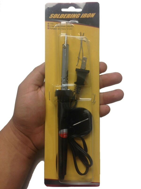 New - 110V/120V 30W Welding Solder Soldering Iron Heat Pencil Electronic Kit
