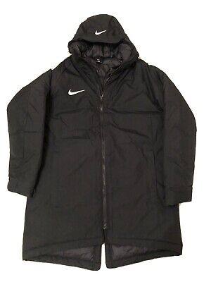 BNWOT Nike Academy 18 Padded Hooded Jacket Coat Black L Large £105