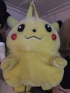 Large Pikachu Backpack