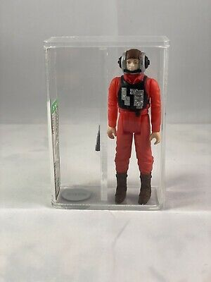 STAR WARS VINTAGE B WING PILOT! AFA 85! NO COO! NR MINT!