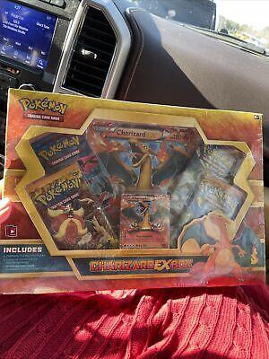 Pokemon 2014 Charizard EX Box 4 Packs Flashfire/XY Base Set Sealed Cards Set