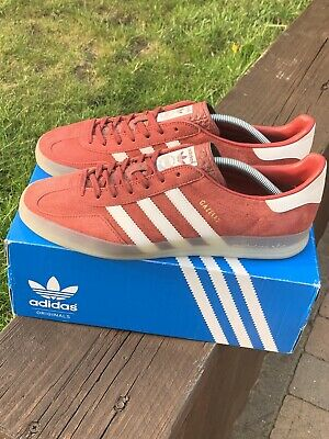 Adidas OG Gazelle Indoor Nomad Red White UK10 Terracewear Koln Dublin Malmo 2013