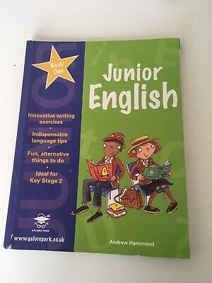 Galore Park Junior English Book 1 Textbook In Good Condition Andrew Hammond for sale  Shipping to South Africa