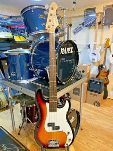 Aria STB PB Bass , Maple Neck, Rosewood Board ,3 Tone Sunburst