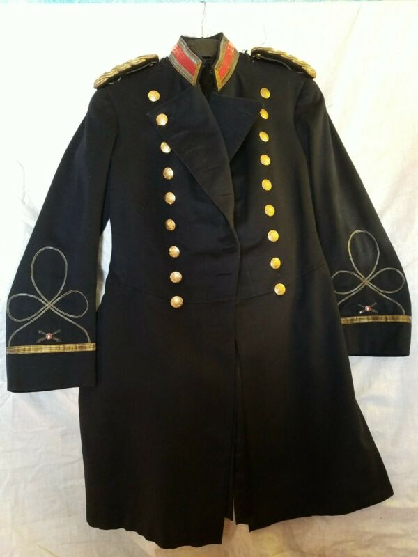 Pre-WWI US Army Coastal Artillery Officers Dress Frock Coat - ID
