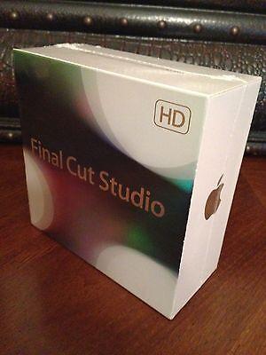 BRAND NEW SEALED APPLE FINAL CUT PRO 7 HD FINAL CUT STUDIO 3 RETAIL (MB642Z/A)