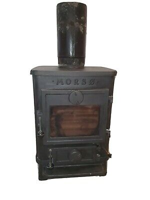 Morso Squirrel 1410 Wood Burning MultiFuel Stove - Black