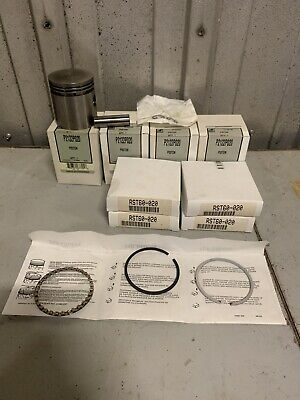 Farmall Cub New Pistons And Rings .020 International Lo-boy Tractor Rebuild Kit