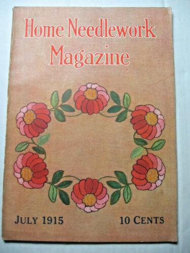 July 1915 Home Needlework Magazine