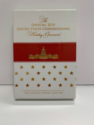 The Official United States Congressional Holiday Christmas Ornament 2018