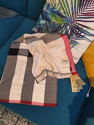 Beautiful Burberry Cashmere Scarf . New
