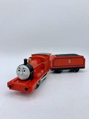 "TOMY Trackmaster Thomas & Friends ""TALKING JAMES"" 2009 WORKING Motorized Train"