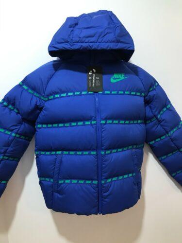 Nike Sportswear Big Boys Game Royal Size L Full-Zip Down Fill Jacket $150 CU9154