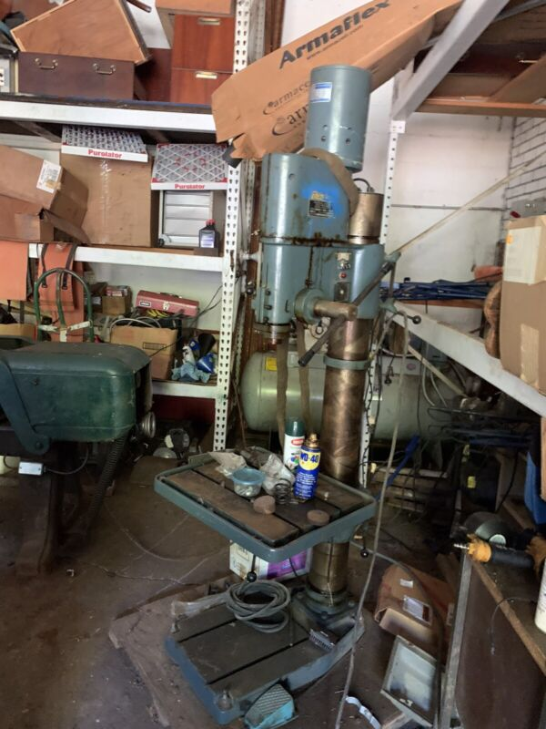 Enco Vertical Gearhead Drill Press - Used - Local Pick-up ONLY