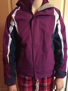 Girls North Face 3 in 1 Ski Jacket