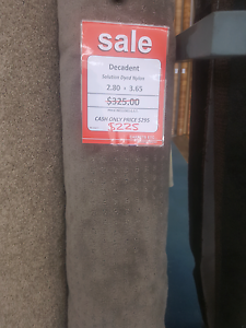 2.80m x 3.65m Carpet - Solution Dyed Nylon   Only $225 Forrestfield Kalamunda Area Preview
