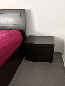 Furniture Omeca Queen Size Gas Lift Bedroom Suite 4 Pieces