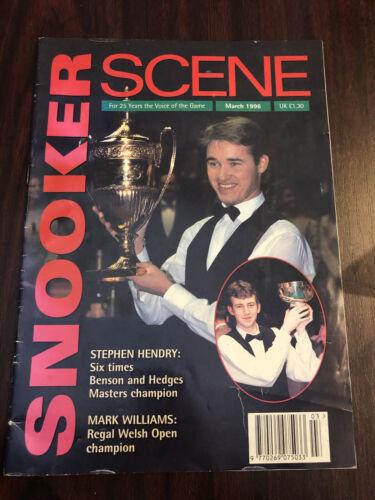 Snooker Scene magazine March 1996