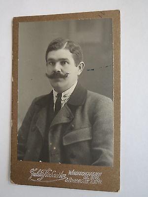 Windischgarsten OÖ - Rottenmann - Mann mit Bart im Anzug - Portrait / CDV