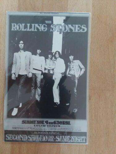 BG 201 Rolling Stones Randy Tuten Fillmore Postcard