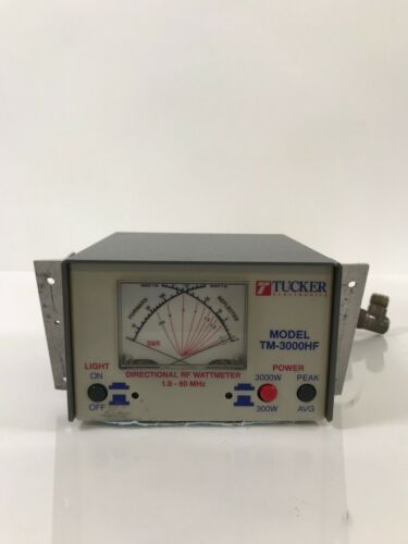 Tucker Electronics TM-3000HF SWR/Power Meter