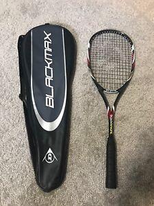 Black Knight Alpha Squash Racquet And Dunlop Bag like new