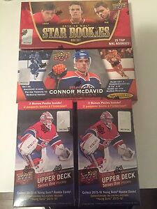 2015-16 Upper Deck Connor McDavid Rookie collection