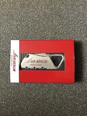 Air Berlin Koffer Zahlenschloss mit alten AB Logo