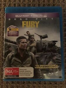 Fury Blu Ray The Junction Newcastle Area Preview