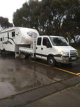 5th wheeler, 4 bunks, toy hauler, Iveco family bus motorhome Horsham Horsham Area Preview