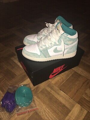 Nike Air Jordan 1 Retro Size 6.5 Turbo Green